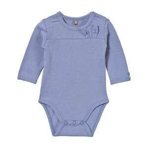 Hust&Claire; Boys All in ones Blue Baby Body With Bunny Ears Blue Bell