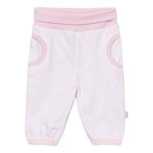 Hust&Claire; Girls Bottoms Pink Jersey Jogging Trousers Soft Rose