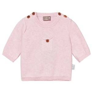 Hust&Claire; Girls Jumpers and knitwear Pink Knit Jumper With Pocket Rosé melange