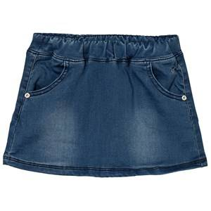 Hust&Claire; Girls Skirts Blue Denim-Look Skirt