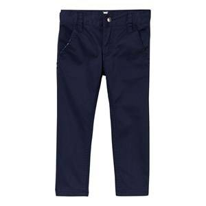 Hust&Claire; Boys Bottoms Blue Twill Trousers Night Blue