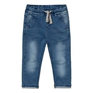 Hust&Claire; Boys Bottoms Blue Denim-Look Sweatpants
