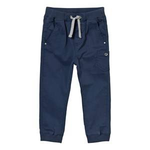 Hust&Claire; Boys Bottoms Blue Coloured Twill Trousers Blue moon
