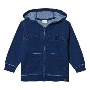 Hust&Claire; Boys Jumpers and knitwear Sweatshirt with Zipper Blue Moon