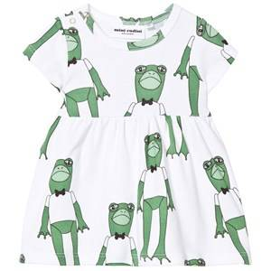 Mini Rodini Girls Dresses Green Frogs Dress Green