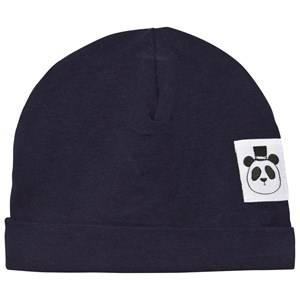 Mini Rodini Unisex Headwear Navy Basic Baby Beanie Navy