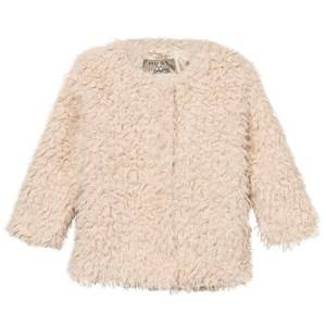 Hust&Claire; Girls Coats and jackets Pink Faux Fur Jacket