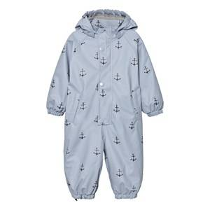 Mini A Ture Unisex Coveralls Blue Reinis Rainsuit Ashley Blue