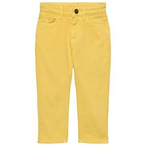 The Bonnie Mob Unisex Bottoms Yellow Regular Fit Stretch Cotton Twill Bonnie Mob Jean Yellow