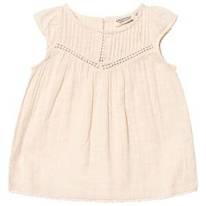 MarMar Copenhagen Girls Tops Cream Daphne Dress Powder