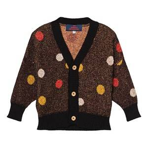 The Animals Observatory Unisex Jumpers and knitwear Black Mantis Cardigan Black