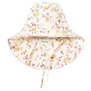 Mini A Ture Girls Headwear Cream Thia B Hat Antique White