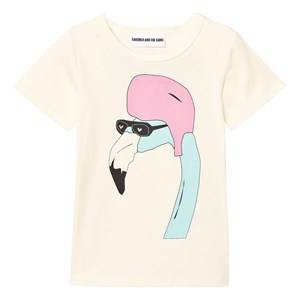 Gardner and the gang Unisex Tops Cream The Cool Tee Helmut Is Back Cream White