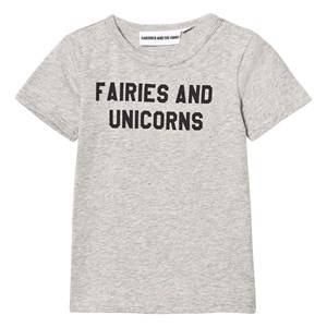 Gardner and the gang Unisex Tops Grey The Cool Tee Fairies And Unicorns Heather Grey