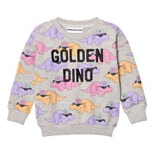 Gardner and the gang Unisex Jumpers and knitwear Grey The Classic Sweatshirt Dorthy Golden Dino Heather Grey