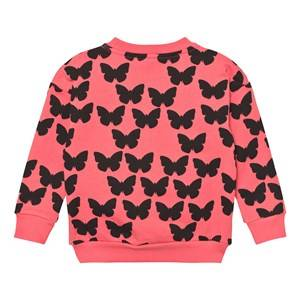 Gardner and the gang Unisex Jumpers and knitwear Pink The Classic Sweatshirt Silhouette Butterflies Coral