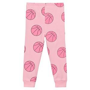 Gardner and the gang Unisex Bottoms Pink Leggings Basketball Candy Pink