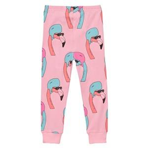 Gardner and the gang Unisex Bottoms Pink Leggings Helmut Flamingo Candy Pink
