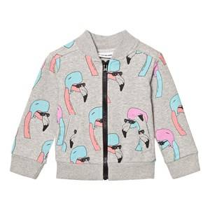 Gardner and the gang Unisex Jumpers and knitwear Grey Track Suit Jacket Helmut Flamingo Heather Grey