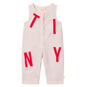 Tinycottons Unisex All in ones Pink Tiny Jumpsuit Pale Pink