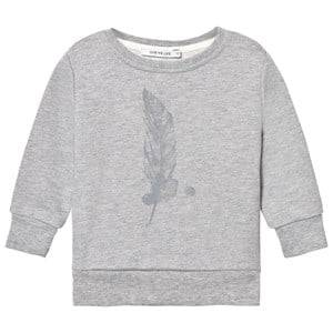 One We Like Unisex Jumpers and knitwear Grey Basic Sweater Feather Grey Melange