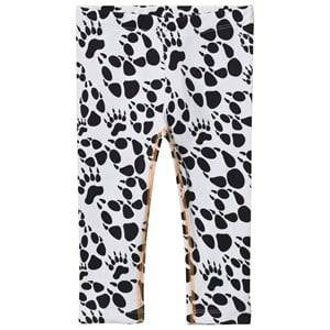 Filemon Kid Unisex Bottoms White Leggings Paw Star White