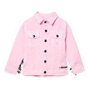 The BRAND Girls Private Label Coats and jackets Pink Denim Girl Jacket Stonewashed Pink