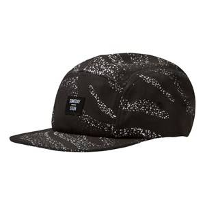 Someday Soon Boys Headwear Black Toluca 5 Panel Cap Palm Print