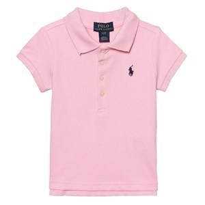 Ralph Lauren Boys Tops Pink Pink Classic Polo with Small PP