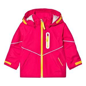 Didriksons Unisex Coats and jackets Pink Pani Kids Jacket Fuchsia