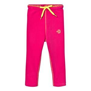 Didriksons Girls Fleeces Pink Monte Kids Fleece Pants Fuchsia
