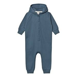 Gray Label Unisex All in ones Blue Hooded Jumpsuit Denim