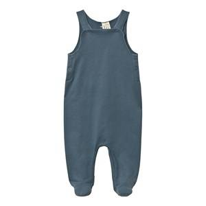 Gray Label Unisex All in ones Blue Baby Sleeveless Suit Denim