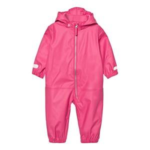Ticket to heaven Girls Coveralls Rain Suit Kody Authentic Rubber Magenta Pink