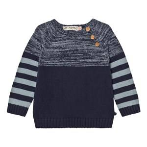 Minymo Boys Jumpers and knitwear Blue Jake 46 Knit pullover Dark Navy