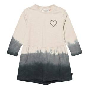 Minymo Girls Dresses Pink Julia 40 Dress Dipdye Gray Morn