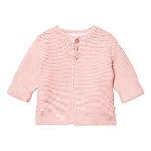 The Little Tailor Girls Jumpers and knitwear Pink Pale Pink Classic Knit Cardigan