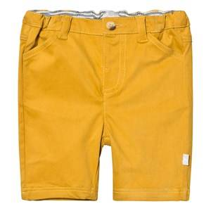The Little Tailor Boys Shorts Yellow Mustard Chino Shorts
