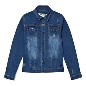 The BRAND Girls Coats and jackets Blue Denim Jacket Stonewashed Blue