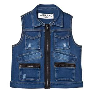 The BRAND Unisex Coats and jackets Blue Hunter Vest Stonewashed Blue
