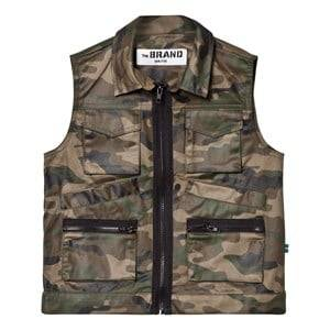 The BRAND Unisex Private Label Coats and jackets Green Hunter Vest Camo