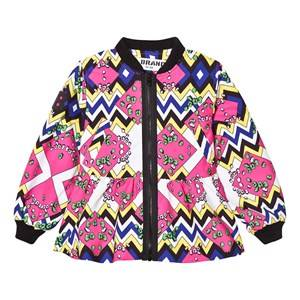 The BRAND Girls Coats and jackets Pink Crazy Peplum Multi Color