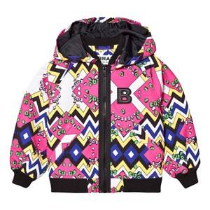 The BRAND Unisex Coats and jackets Pink Multi Jacket Multi Color