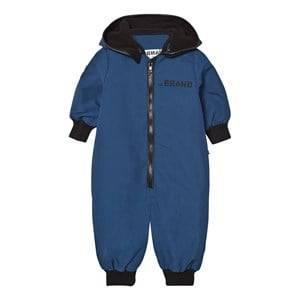 The BRAND Unisex Private Label Coveralls Blue Multi Overall Blue