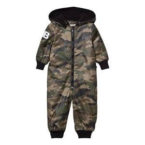 The BRAND Unisex Private Label Coveralls Green Multi Overall Camo