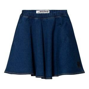 The BRAND Girls Private Label Skirts Blue Maxi Skirt Stonewashed Blue