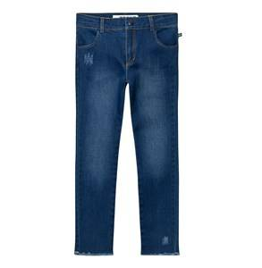 The BRAND Unisex Private Label Bottoms Blue Skinny Denims Stonewashed Blue
