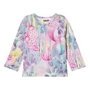 Molo Girls Tops Multi Eva T-Shirt Delicate Cacti