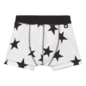 Molo Boys Underwear Black Jon Boxer Briefs Black Star Print
