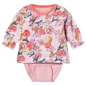 Me Too Unisex All in ones Pink Kin 251 Top With Baby Body Crystal Rose